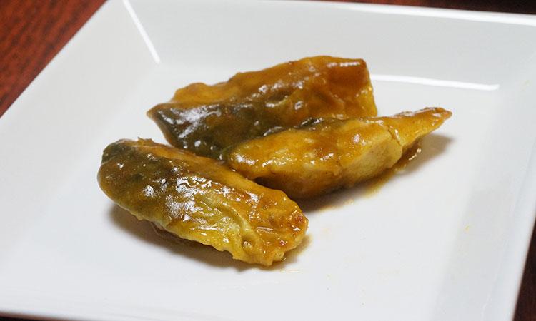 鯖のカレー煮