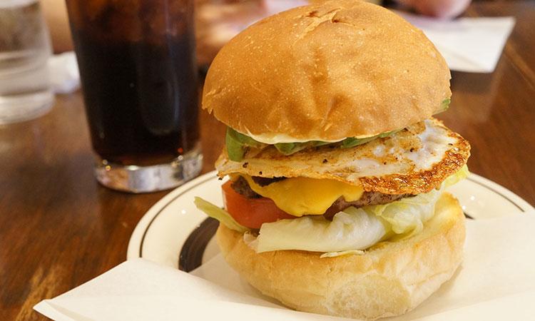 高山 ハンバーガー