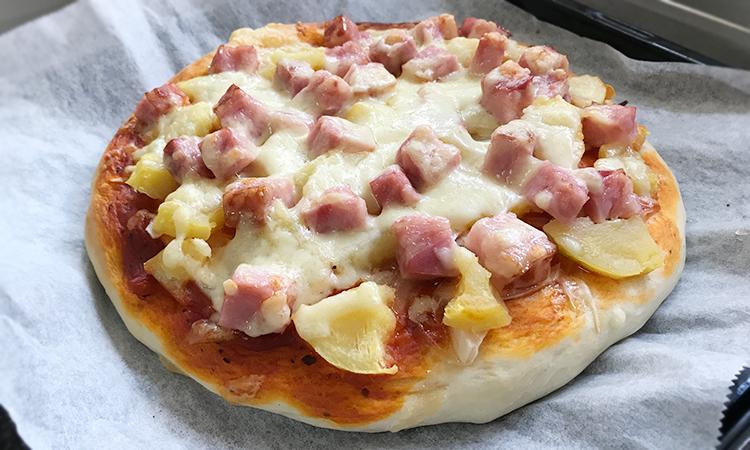 ホームベーカリー ピザ