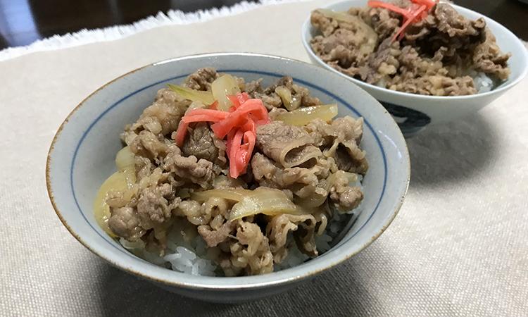 牛ダシダ 牛丼