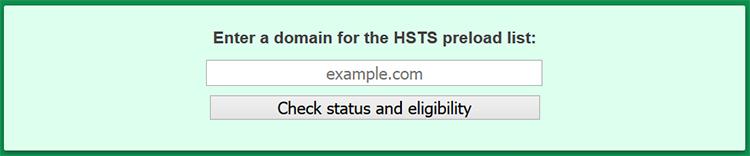 プリロードHSTSの登録