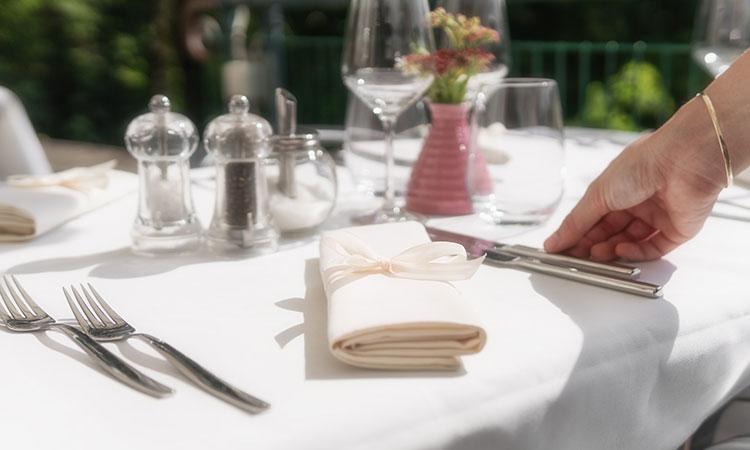 レストラン ナプキン