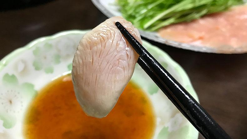 鶏しゃぶ むね肉