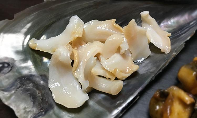 バイ貝 刺身