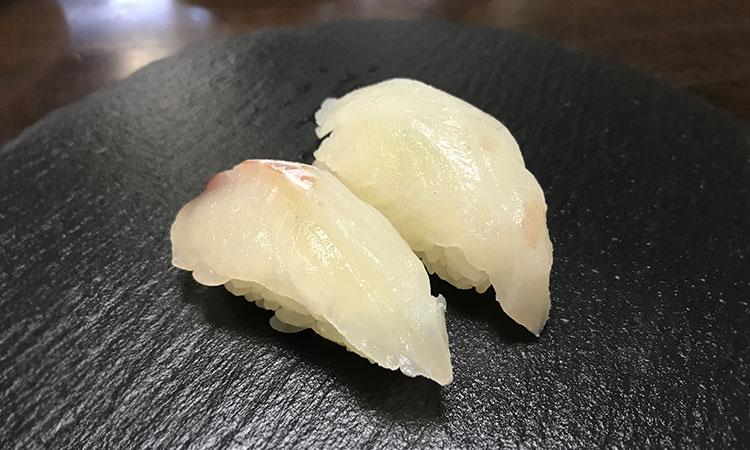 アイゴ 寿司