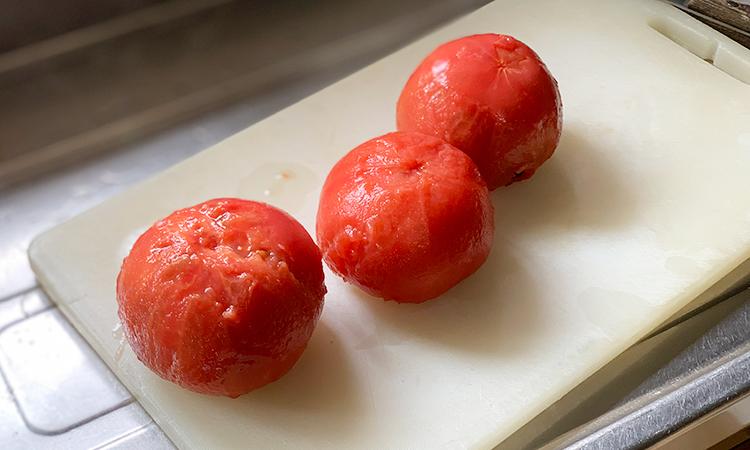 トマト 湯剥き