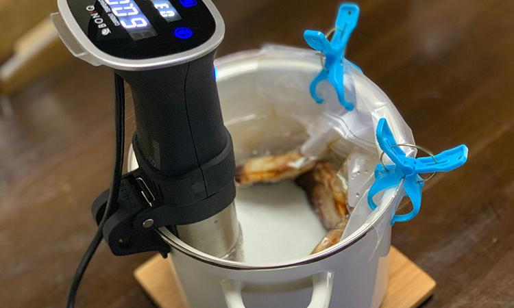 低温調理 豚の生姜焼き