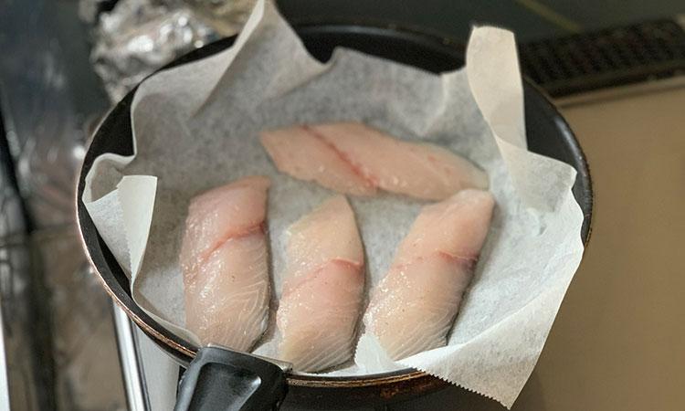鯛飯 土鍋