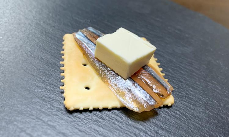 きびなご クリームチーズ クラッカー