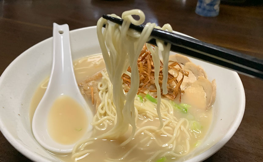 祇園麺処むらじ ストレート麺