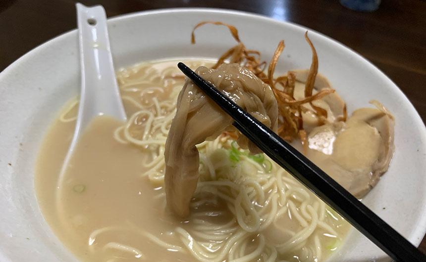祇園麺処むらじ メンマ