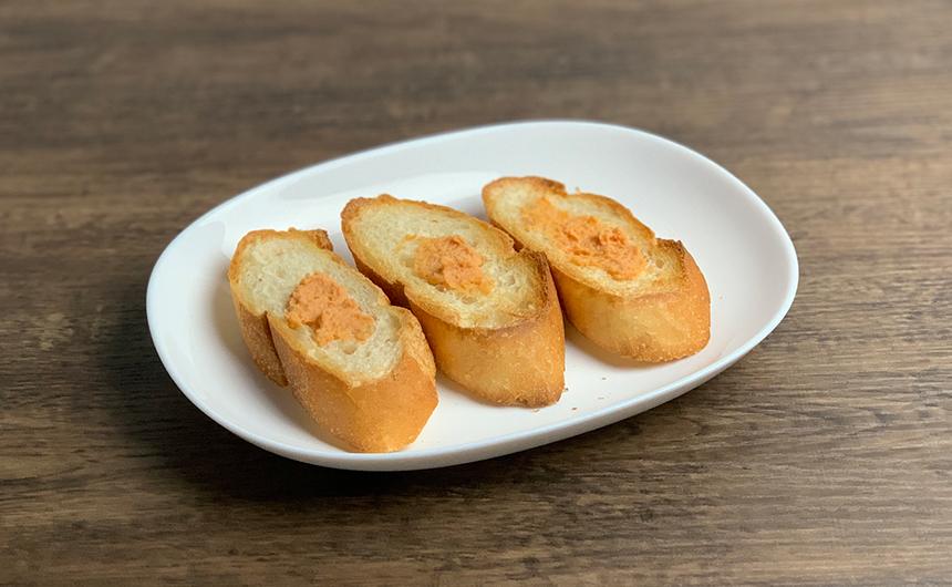 車海老のパテ フランスパン