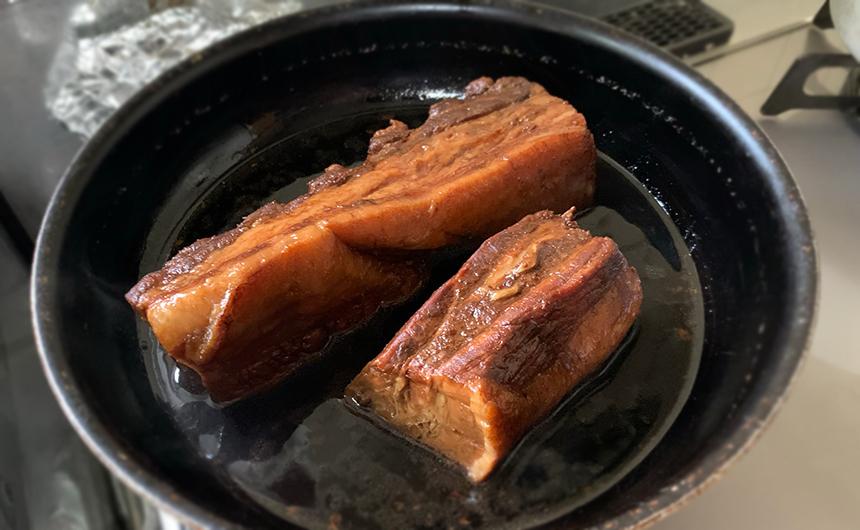 豚の角煮 温め