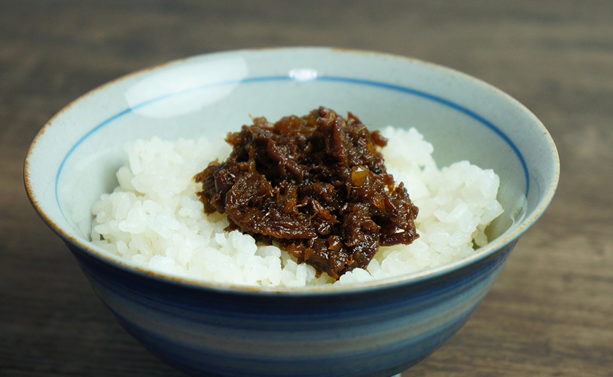 神戸牛しぐれ煮 ご飯