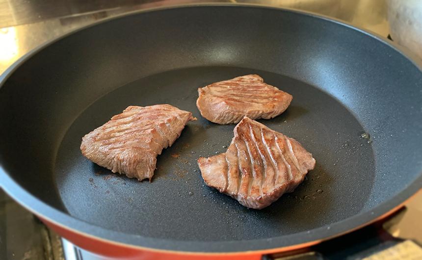 仙台仕込み熟成牛タン 焼き方