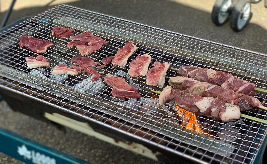 猪肉 バーベキュー